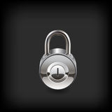 Lock icon. Royalty Free Stock Photo