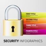 Lock icon Stock Photos