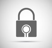Lock Icon Royalty Free Stock Photography