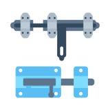 Lock icon vector. Royalty Free Stock Photo