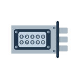 Lock icon vector. Royalty Free Stock Photography