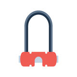 Lock icon vector. Royalty Free Stock Images