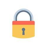 Lock icon vector. Stock Image