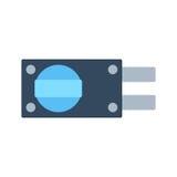 Lock icon vector. Stock Photos