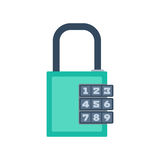 Lock icon vector. Stock Images