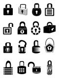 Lock icons Stock Images