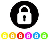 Lock icons. Vector file of lock icons Royalty Free Stock Photos