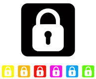 Lock icons. Vector file of lock icons Stock Photos