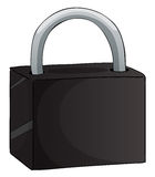 A lock Royalty Free Stock Photos