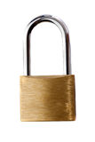 Lock iron closed Stock Image