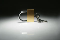Lock isolated Stock Photography