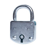Lock isolated Stock Image