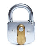 Lock isolated Royalty Free Stock Photo