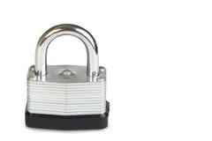 Lock Isolated on White Stock Image