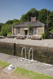 Lock keepers cottage Stock Images