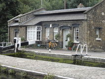 Lock keepers house Stock Photos