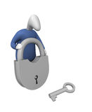 Lock and Key stock photos