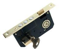 Lock with key Stock Photo