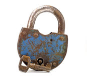 Lock with key Stock Images
