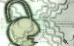 Lock and key Stock Photography