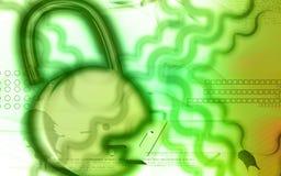 Lock and key Royalty Free Stock Image