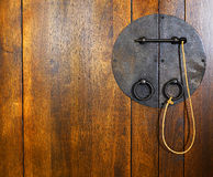 Lock and key Stock Image