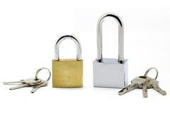 Lock and key Royalty Free Stock Photo