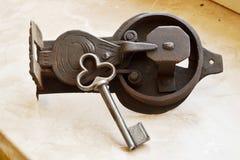Lock and key Royalty Free Stock Photos