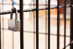The lock key Stock Photo
