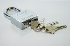 Lock and key Royalty Free Stock Images