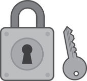 Lock Keyhole Stock Photography
