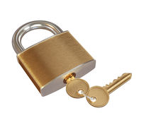Lock with keys Stock Image