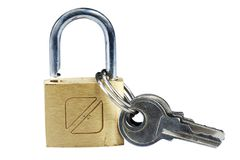 Lock and keys Royalty Free Stock Photos