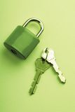 Lock and keys Stock Image