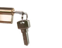 Lock with the keys Stock Images