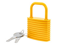 Lock and keys Royalty Free Stock Photography