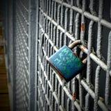 Lock of the love. Lock of the love on the bridge Stock Photo