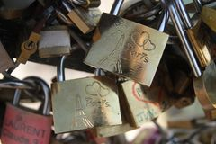 Lock of love Stock Photo