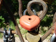 The lock for lovers Royalty Free Stock Image