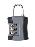 The lock for luggage Stock Images