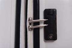 Lock of luggage Stock Images