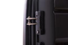 Lock of luggage Royalty Free Stock Image