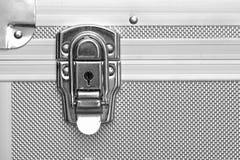 Lock of metal case. A lock of metal case Stock Photos