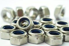 Lock Nut Royalty Free Stock Photos