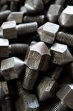 Lock nut Stock Photo