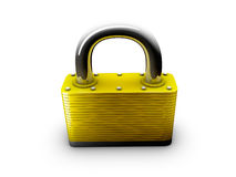 Lock object in studio Royalty Free Stock Photo