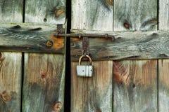 Free Lock Of The Old Barn Door Royalty Free Stock Photo - 38698585