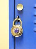 Lock On Locker Royalty Free Stock Images