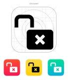 Lock is open icon. Stock Photo