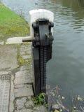 Lock paddle Royalty Free Stock Image